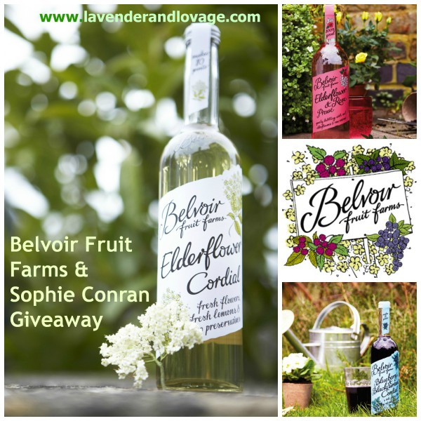 Giveaway: Win a Belvoir Fruit Farms Cordials Hamper & Sophie Conran Gifts worth £63