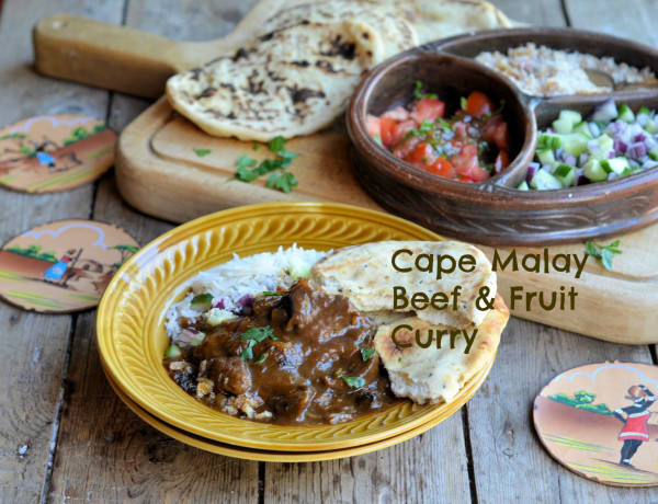 Cape Malay Beef and Fruit Curry