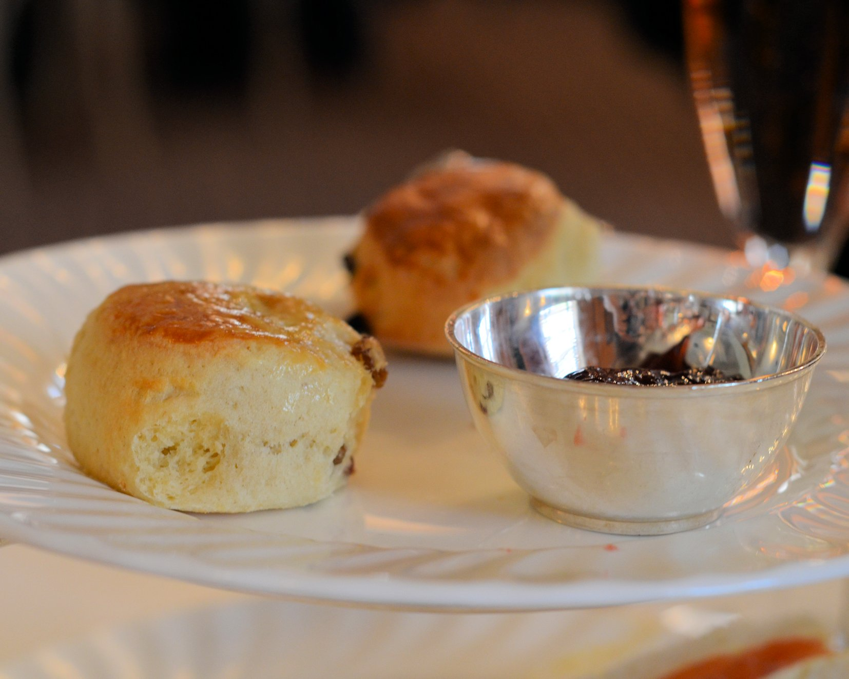 An Art Deco Afternoon Tea Experience With Champagne At