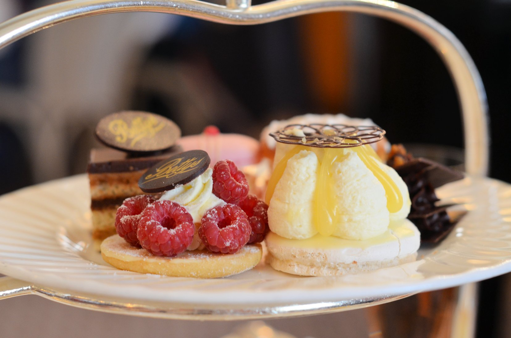 an deco afternoon tea experience with chagne at bettys of york