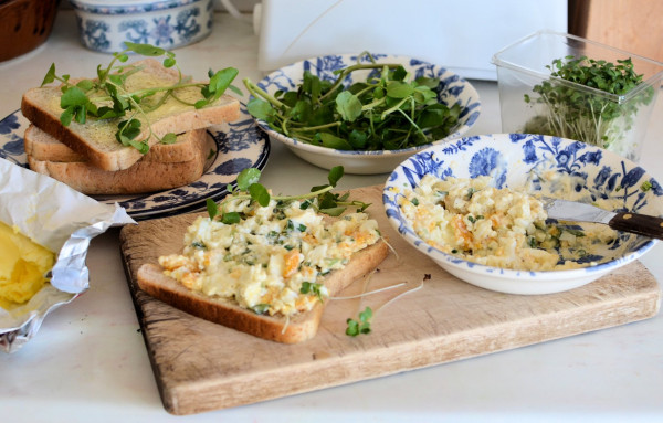 Celebrating Britain's Most Famous Snack - The Sandwich! Egg and Two Cress Sandwich Recipe