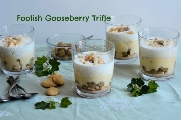 Foolish Gooseberry Trifle