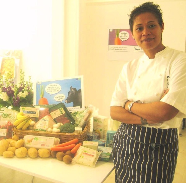 Monica Galetti - Weekly Shopping for a family of four = £53