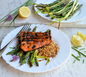 Sticky Asian Salmon (Sous Vide)