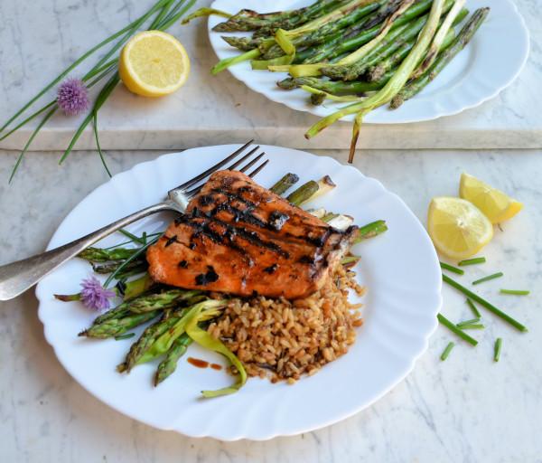 Sous Vide Salmon Three Ways! Sticky Asian Salmon, Salmon Pasta and Salmon Salad with Wasabi Dressing