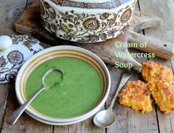 Cream of Watercress Soup recipe