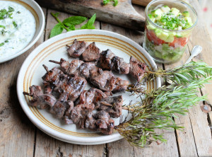 Lamb & Rosemary Skewers