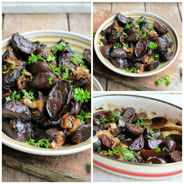 Roast Beetroot & Shallots