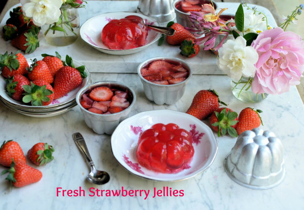 Fresh Strawberry Jellies recipe