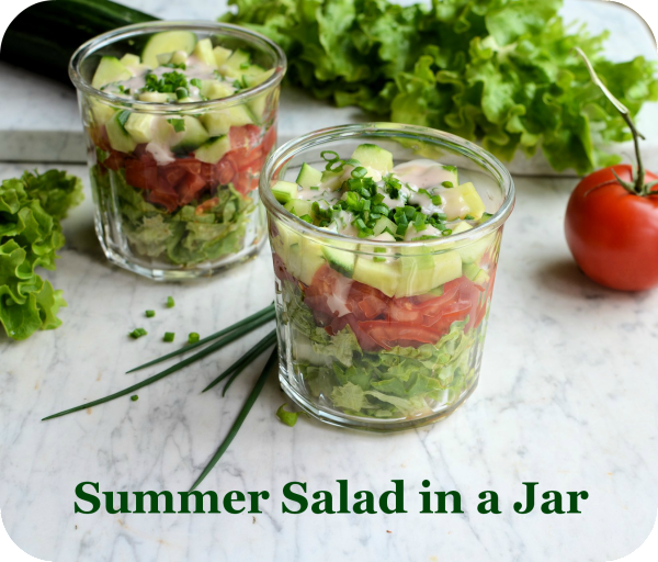 Thrifty & Organic Meal Planner for July: Lamb & Rosemary Skewers,Raspberry Custard Bake and Summer Salad Recipes