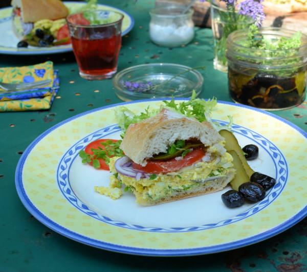 Bastille Day, Picnics And Fireworks: Vegetarian Stuffed