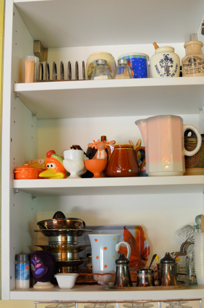 Mustard Pots, Egg Cups, Jugs, Toast Racks, Lemon Squeezers, Cups and Cruet Sets