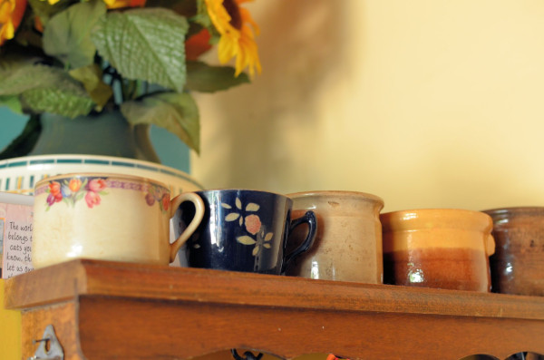 Vintage and Antique French Coffee Mugs and Terrine Pots