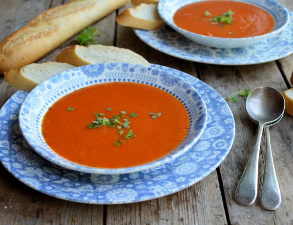 Roast Red Pepper Soup