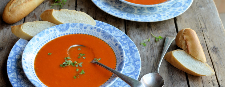 Go Hot or Cold with this 5:2 and Weight Watchers Diet Recipe: Roasted Red Pepper Soup