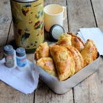 An Old Flask and Childhood Memories: Cheese, Onion and Potato Pasties Recipe