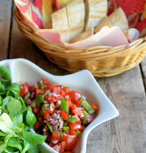 Mixed Pepper & Baby Tomato Salsa