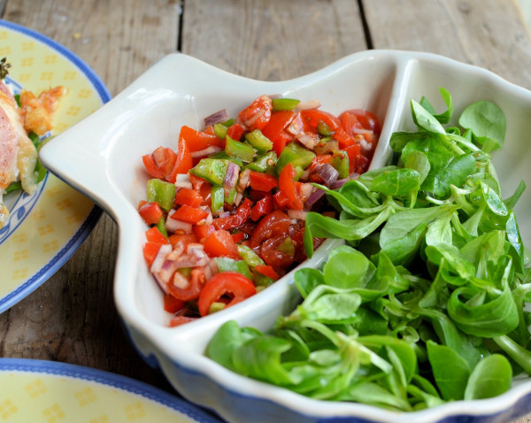 Mixed Pepper Tomato Salsa
