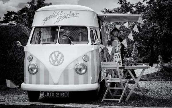 Vintage Ice Cream Van: Image: Polly's Parlour