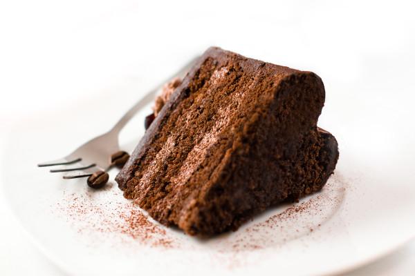 I Heart Chocolate Cake