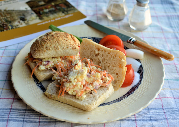 Stotty Cakes & Geordie Ploughman's Lunches! Cheese Savoury (Sandwich Filling) Recipe