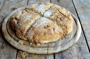 Irish Soda Bread with Oats