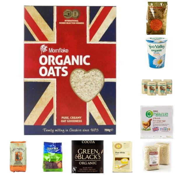 My Top Ten Organic Store Cupboard Ingredients