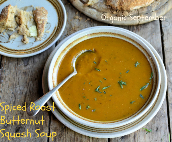 Image: Spiced Roast Butternut Squash Soup