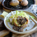 Recipes, Notes & Reviews from my Kitchen: Hot Baked Tatties for an easy Autumn Lunch