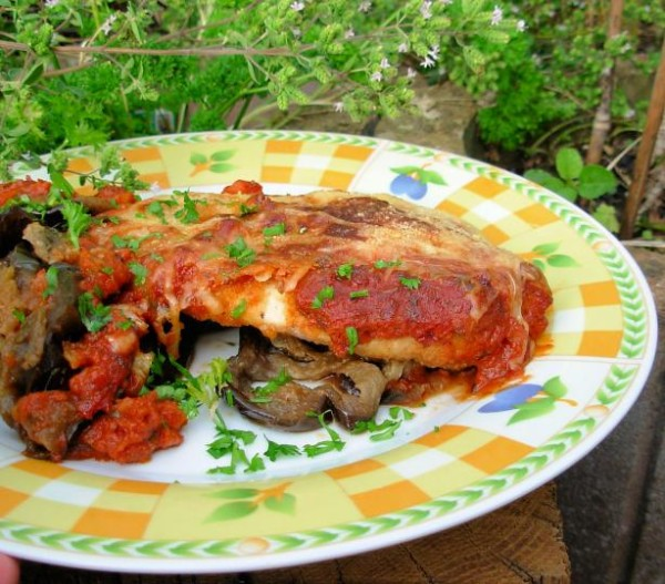 The Secret Recipe Club: Chicken Parmesan (Chicken Parmigiana