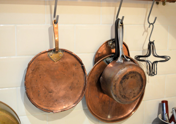 Copper Pan Lids