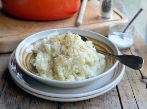 Faux Mashed Potatoes – Cauliflower Mash