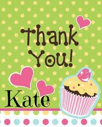 Thank You Kate