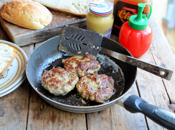 British Sausage Week: Bangin' Bonfire Bacon & Banger Burgers & Sausage Casserole Recipes