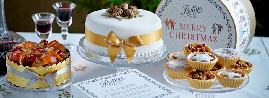 Bettys Christmas Cakes & Festive Fare