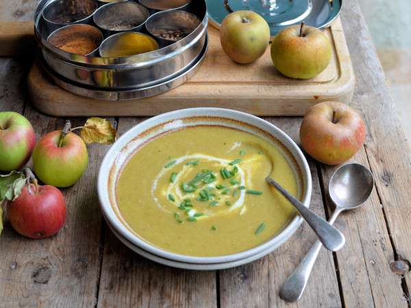 Curried Leek and Apple Soup Recipe