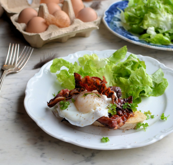 Sous Vide Poached Eggs: Bacon & Eggs, Smoked Haddock & Eggs and Basic Poached Eggs