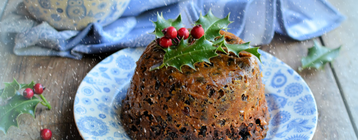 Stir Up Sunday: Quick and Easy Microwave Mincemeat Christmas Pudding Recipe