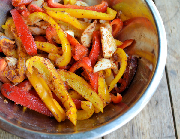 Spicy Spanish Peppers and Onions