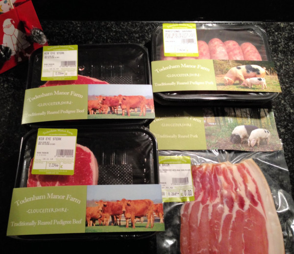 Todenham Manor Farm Sample Box