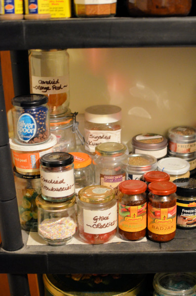 A Peep in my Pantry! Spices, Sauces, Pudding Bowls and Pulses......