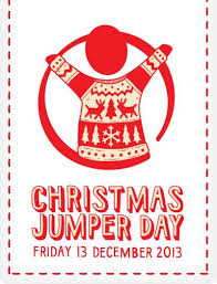Make the world better with a sweater on Friday 13 December by wearing a Christmas jumper for the day and giving £1 or more to Save the Children.