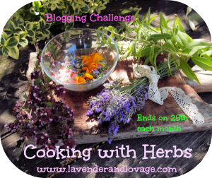 Happy Chinese New Year: Cooking with Herbs Challenge for February 2014