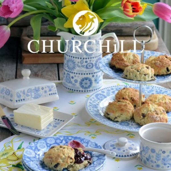 Lavender and Lovage Churchill China