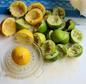 Juicing the fruit