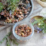 Rosemary and Sea Salt Roasted Walnuts:
