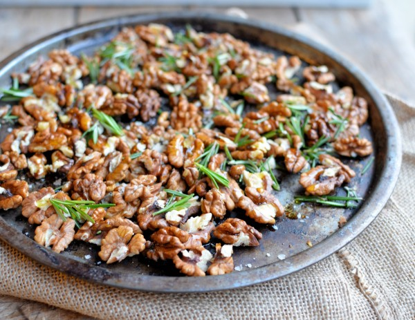 salt and pepper pine nuts roasted rosemary walnuts crusts walnut nuts ...