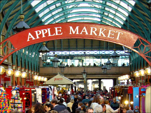 Apple Market Covent Garden
