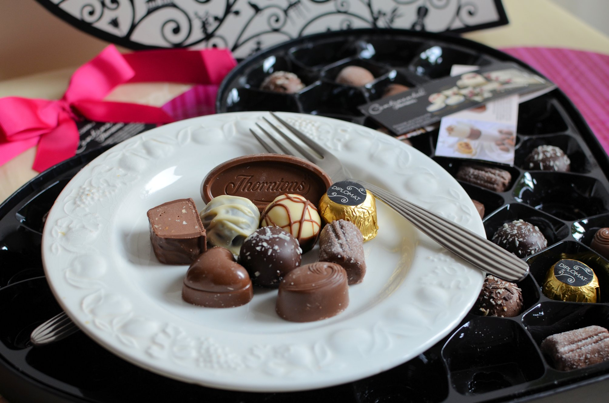 A Romantic Continental Breakfast With Thorntons Chocolates