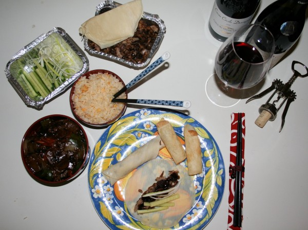 Pairing Côtes du Rhône Wines with Chinese Takeaway Food